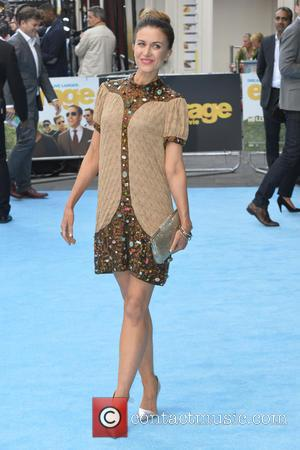 Katherine Kelly - European premiere of 'Entourage' at the Vue West End in London - Arrivals - London, United Kingdom...