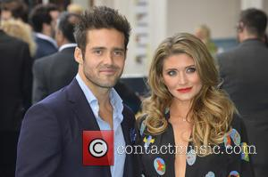 Spencer Matthews and Lauren Hutton - European premiere of 'Entourage' at the Vue West End in London - Arrivals -...