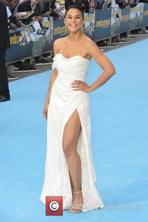 Emmanuelle Chriqui - European premiere of 'Entourage' at the Vue West End in London - Arrivals - London, United Kingdom...