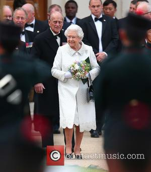 Queen Elizabeth II and Prince Phillip - The Queen, accompanied by other senior Royals and the Sultan of Brunei, attend...