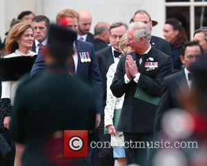 Prince Charles - The Queen, accompanied by other senior Royals and the Sultan of Brunei, attend the Gurkha 200 Pageant...
