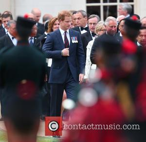 Prince Harry - The Queen, accompanied by other senior Royals and the Sultan of Brunei, attend the Gurkha 200 Pageant...