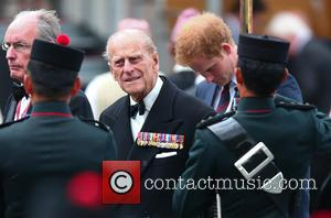 Prince Phillip and Prince Harry