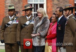 Joanna Lumley - The Queen, accompanied by other senior Royals and the Sultan of Brunei, attend the Gurkha 200 Pageant...