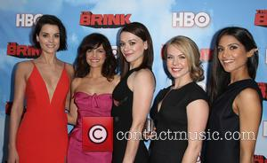 Jaimie Alexander, Carla Gugino, Maribeth Monroe, Mary Faber and Melanie Kannokada