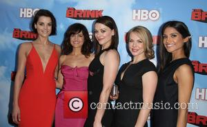 Jaimie Alexander, Carla Gugino, Maribeth Monroe, Mary Faber and Melanie Kannokada - Los Angeles Premiere for HBO's new comedy series...