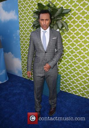 Aasif Mandvi - Los Angeles Premiere for HBO's new comedy series THE BRINK at Paramount Theater - Los Angeles, California,...