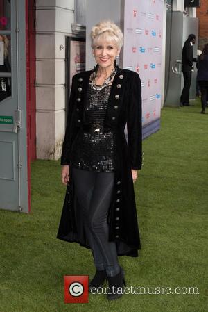 Anita Dobson - 'London Road' Live Premiere held at the Ritzy Brixton - Arrivals. - London, United Kingdom - Tuesday...
