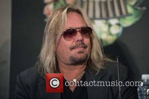 Vince Neil - Motley Crue final tour press conference held at the Law Society. - London, United Kingdom - Tuesday...