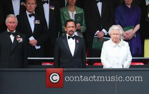Queen Elizabeth II, HRH Sultan of Brunei and Prince Charles
