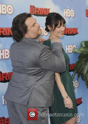 Tanya Haden and Jack Black - The HBO Series The Brink - Los Angeles, California, United States - Tuesday 9th...