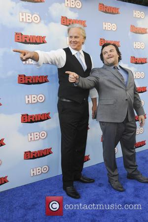 Tim Robbins and Jack Black - The HBO Series The Brink - Los Angeles, California, United States - Tuesday 9th...