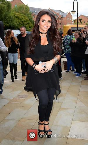 Jesy Nelson - Little Mix arrive at Key 103 Radio Station Manchester as part of their UK Radio Tour -...