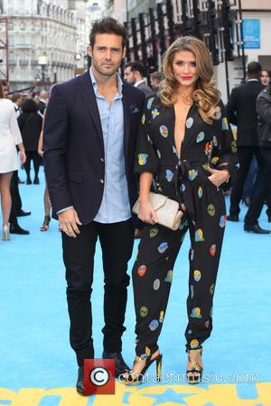 Spencer Matthews and Lauren Hutton - Entourage the movie UK premiere at the Vue cinema - Arrivals - London, United...