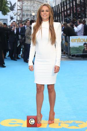 Danielle Lloyd - Entourage the movie UK premiere at the Vue cinema - Arrivals - London, United Kingdom - Tuesday...