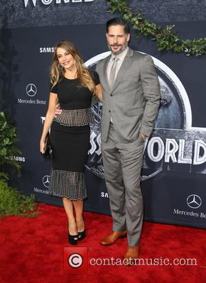 Sofia Vergara and Joe Manganiello - Premiere of Universal Pictures' 'Jurassic World' at Dolby Theatre - Arrivals at Dolby Theatre...