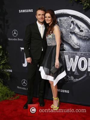 Chris Hardwick and Lydia Hearst - Premiere of Universal Pictures' 'Jurassic World' at Dolby Theatre - Arrivals at Dolby Theatre...
