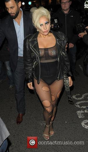 Lady Gaga - Lady Gaga at the Crobar and Ronnie Scott's Jazz Club at Crobar - London, United Kingdom -...