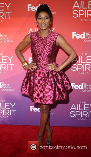 Tamron Hall - 2015 Ailey Spirit Gala at David H. Koch Theater, Lincoln Center - Arrivals - New York City,...