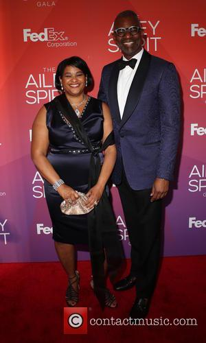 Robyn Coles and Dr. N. Anthony - 2015 Ailey Spirit Gala at David H. Koch Theater, Lincoln Center - Arrivals...