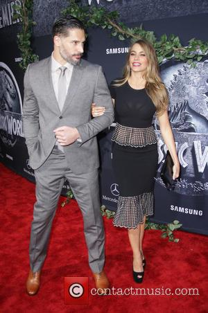 Joe Manganiello and Sofia Vergara - Premiere of Universal Pictures' 'Jurassic World' - rrivals at Dolby Theatre - Hollywood, California,...