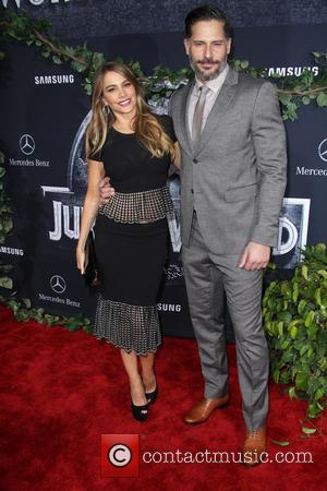 Sofia Vergara and Joe Manganiello - Premiere of Universal Pictures' 'Jurassic World' - rrivals at Dolby Theatre - Hollywood, California,...