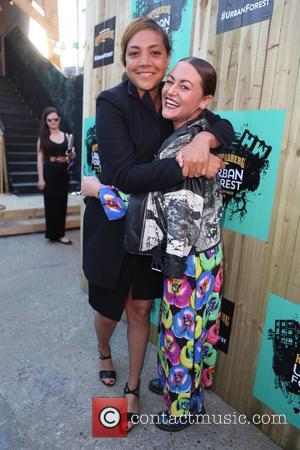 Miquita Oliver and Jamie Winstone