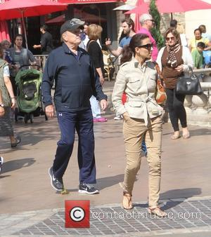 Robert Duvall and Luciana Duvall
