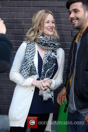 Laura Linney - Laura Linney outside the ITV Studios - London, United Kingdom - Wednesday 10th June 2015
