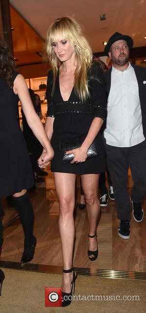 Kimberly Stewart - Kimberly Stewart out and about with friends after attending the Louis Vuitton Summer Launch Party - London,...