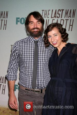 Will Forte and Kristen Schaal - FOX's 'Last Man On Earth' Screening And Panel at Landmark Theatre at Landmark Theater...