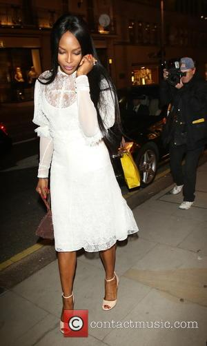 Naomi Campbell - Louis Vuitton private dinner party in Mayfair at Louis vuitton, New Bond Street, London - London, United...