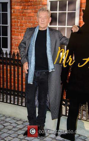 Sir Ian McKellan - The UK premiere of 'Mr Holmes' - Arrivals - London, United Kingdom - Wednesday 10th June...