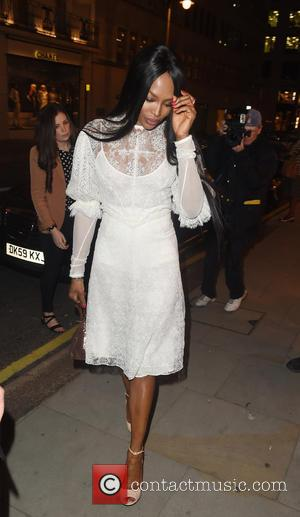 Naomi Campbell - Naomi Campbell attends the Louis Vuitton Summer Launch Party - London, United Kingdom - Wednesday 10th June...