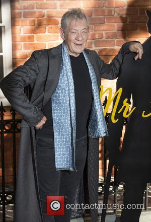 Ian McKellen - The premiere of 'Mr Holmes' at the Odeon Kensington - Arrivals - London, United Kingdom - Wednesday...