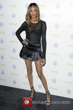 Jourdan Dunn - HTC One M9 INK launch event at the ME Hotel - Arrivals at ME Hotel - London,...