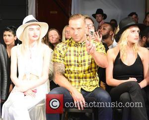 Callum Best and and models - Fashion designer Joshua Kane catwalk show in Old Spitafields - London, United Kingdom -...