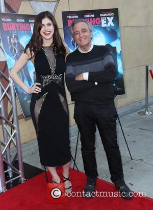 Alexandra Daddario and Joe Dante