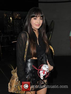 Zara Martin - HTC One M9 INK launch event at the ME Hotel - Outside Arrivals - London, United Kingdom...