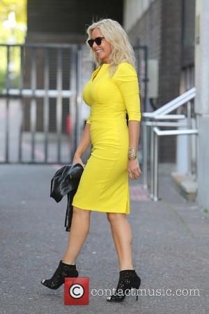 Carol Vorderman - Carol Vorderman outside ITV Studios - London, United Kingdom - Thursday 11th June 2015