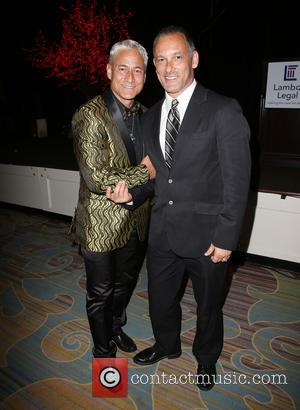 Greg Louganis and Johnny Chaillot