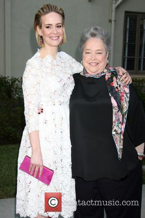 Sarah Paulson and Kathy Bates