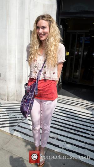 Joss Stone - Joss Stone pictured leaving the Radio 2 studio after appearing as a guest on the Chris Evans...