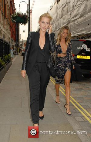 Claire Holt - Celebrities outside Chiltern Firehouse in Marylebone - London, United Kingdom - Friday 12th June 2015
