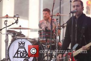 Andy Hurley, Fall Out Boy and Pete Wentz