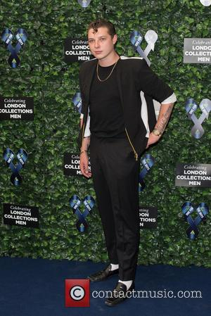 John Newman - LCM s/s 2016: One For The Boys Charity Ball held at the Roundhouse - Arrivals. - London,...