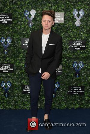 Conor Maynard - LCM s/s 2016: One For The Boys Charity Ball held at the Roundhouse - Arrivals. - London,...