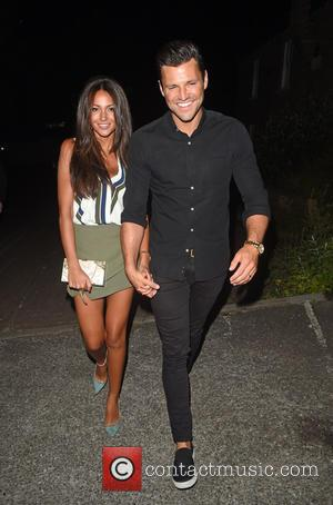 Mark Wright and Michelle Keegan - Newlyweds Mark Wright and Michelle Keegan spotted leaving Studio 15 nightclub in Windsor, looking...