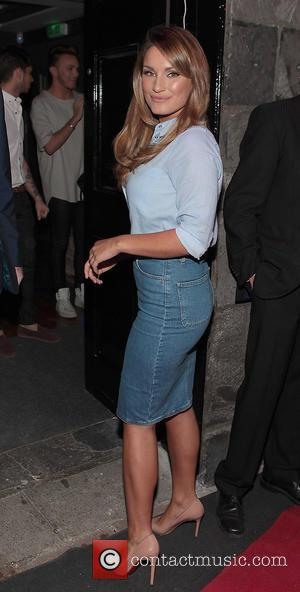 Sam Faiers - Opening of Cathedral Bar and Restaurant in Maynooth - Maynooth, Ireland - Friday 12th June 2015