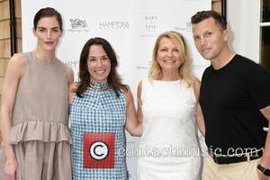 Hilary Rhoda, Samantha Yanks, Debra Halpert and Sean Avery